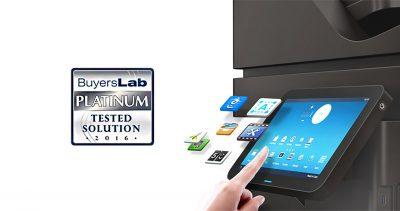 Soluția de imprimare Samsung Smart UX Center, evaluată cu Platinum de către Buyers Lab