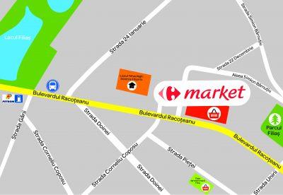 Grupul Carrefour deschide primul supermarket din oraşul Filiaşi, Market Filiaşi