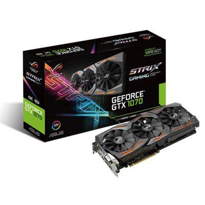 ASUS Republic of Gamers anunță Strix GeForce GTX 1070