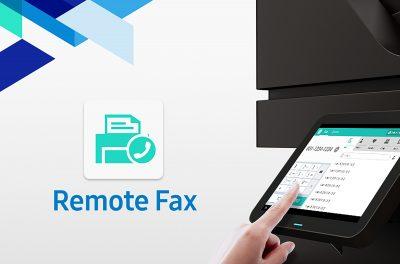 Samsung a lansat aplicația de imprimare Remote Fax