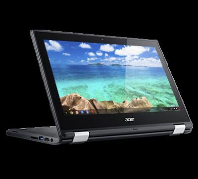 Primul Chromebook Acer disponibil în România este convertibil și are touchscreen