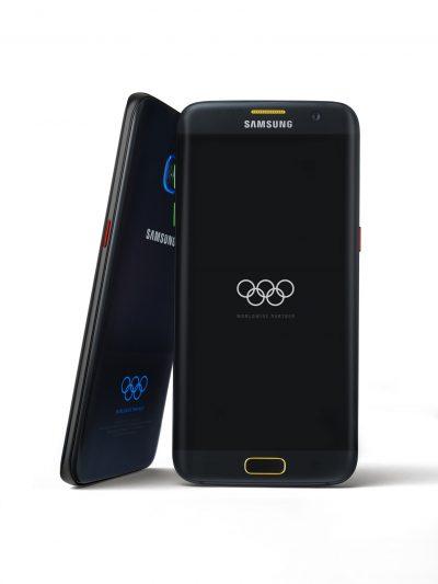 Samsung lansează o ediție limitată Galaxy S7 edge, parte a campaniei globale pentru Jocurile Olimpice de la Rio 2016