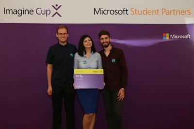 : Studenții români câștigă finala Microsoft Imagine Cup 2016 la categoria Innovation Inbox x
