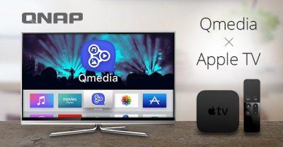 QNAP oferă o aplicație pentru rularea conținutului media de pe NAS prin Apple TV