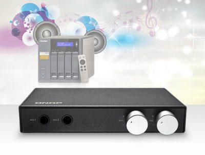 QNAP Audio Box transformă dispozitivul NAS într-un sistem de karaoke