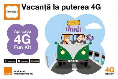 Orange 4G Fun Kit: În premieră, clienții sunt invitați să voteze zonele în care extinderea rețelei 4G să fie prioritară