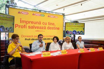 ÎMPREUNĂ CU TINE, PROFI SALVEAZĂ DESTINE – 2016