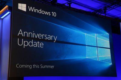 Windows 10 Anniversary Update, îndrumări şi detalii