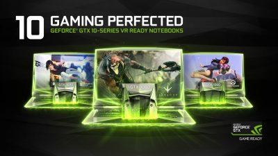 NVIDIA lansează seria GeForce GTX 10 pentru notebook-uri