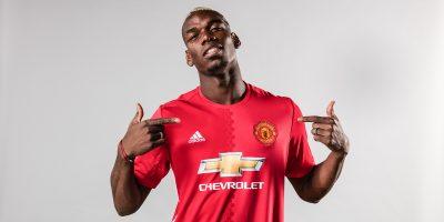 adidas sărbătoreşte transferul record al jucătorului Paul Pogba la Manchester United