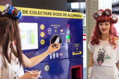 """Românii au colectat 100.000 de doze de aluminiu în campania """"Și mama reciclează!"""", într-o lună și jumătate de la lansare"""