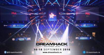 Concurs: Castiga una dintre cele 20 de invitatii la DreamHack 2016!