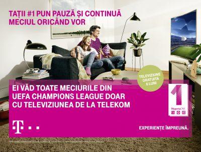Telekom anunţă noile beneficii MagentaONE şi aduce în prim-plan personajul-erou al campaniei de toamnă – Tatăl