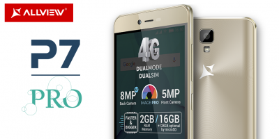 Allview lansează smartphone-ul P7 PRO,  un terminal atrăgător și accesibil