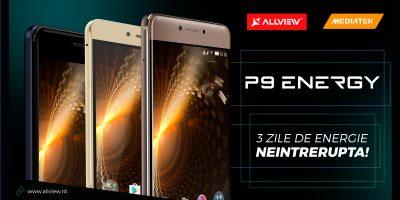 Allview lanseaza gama P9 Energy  intr-un eveniment organizat impreuna cu MediaTek
