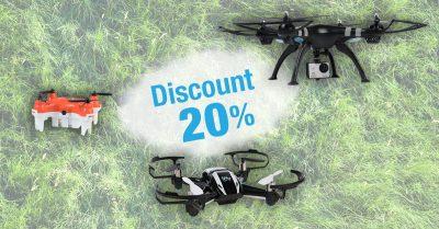 -20% la orice dronă Evolio până pe 15 septembrie 2016