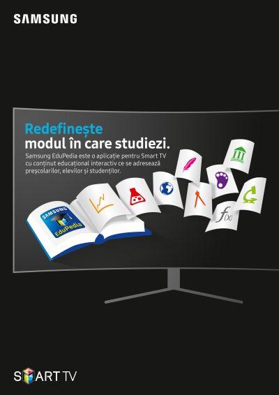 Samsung lansează platforma educațională EduPedia™