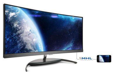 Am testat monitorul Philips BDM3490UC Brilliance Curved WQHD