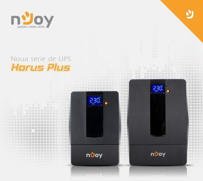 nJoy reinventează UPS-ul Horus odata cu lansarea unei noi serii Horus Plus