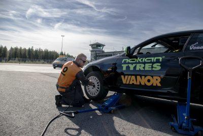 Nokian Tyres a contribuit la stabilirea noului record mondial pentru cea mai rapidă mașină pe două roți