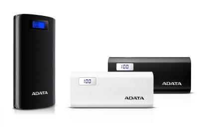 ADATA lanseaza bateriile portabile cu display digital P20000D si P12500D