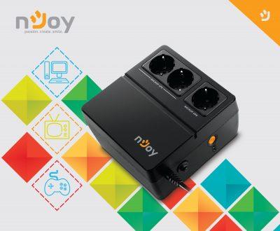 nJoy lanseaza cel mai nou UPS pentu protectia electronicelor tale de acasa