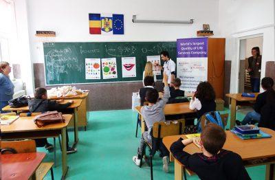 Programul național Să creștem sănătoși! dă startul orelor de educație pentru nutriție și stil de viață sănătos din anul școlar 2016-2017