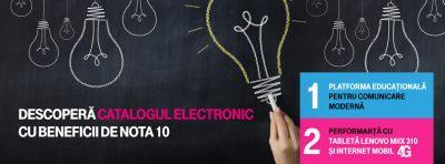 Telekom lansează catalogul electronic pentru digitalizarea tuturor școlilor din România