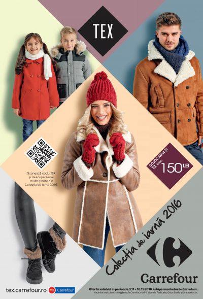 Începe iarna cu cele mai în vogă piese vestimentare din noua colecţie TeX şi Fashion Express, exclusiv la Carrefour!