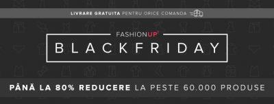 Black Friday la FashionUP: peste 6.000 de produse comandate în primele 12 ore