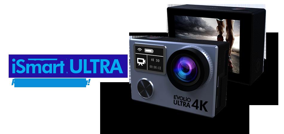 Evolio lansează iSmart Ultra, o cameră video de acțiune ce filmează la calitate 4K profesional