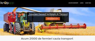 Platforma pentru digitalizarea agriculturii, bilanț după o lună: transportatorii reprezintă peste 50% din conturi