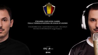 Cele mai bune două echipe se luptă pentru titlul de campioană în finala Turneului Național de League of Legends