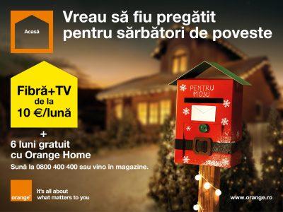 Orange lansează o nouă ofertă de iarnă, pentru sărbători de poveste
