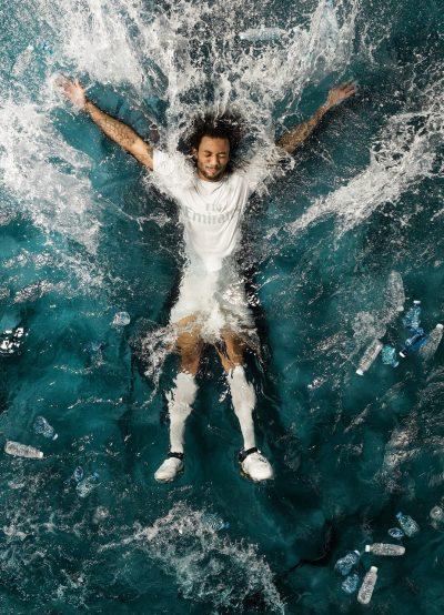 Adidas şi Parley for the Oceans dezvăluie tricourile pentru echipele Real Madrid şi Bayern München fabricate din Parley Ocean Plastic