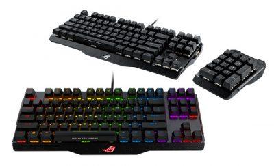 ASUS a lansat ROG Claymore și ROG Claymore Core, două tastaturi mecanice pentru gaming