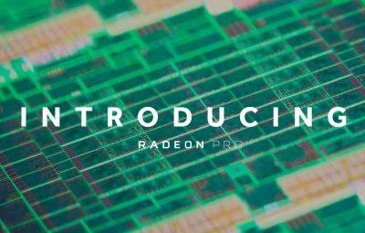 Seria Radeon Pro 400:  Cele mai puternice procesoare grafice ultrathin de la AMD