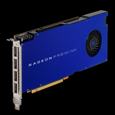 AMD anunță disponibilitatea noilor plăci grafice profesionale Radeon Pro WX Series Graphics Cards