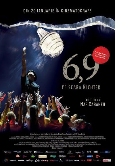 """Jazz-dance pe muzică și versuri semnate de Nae Caranfil, în comedia  """"6,9 pe scara Richter"""", din 20 ianuarie în 30 de orașe din țară"""