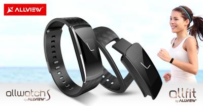 Allview completeaza seria wearables cu doua produse noi, Allwatch S si Allfit
