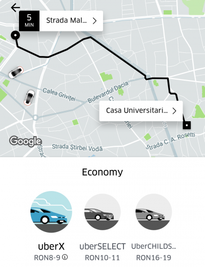 Cum să eviți curse de 5 ori mai scumpe și alte informații utile dacă mergi cu Uber în noaptea de Anul Nou
