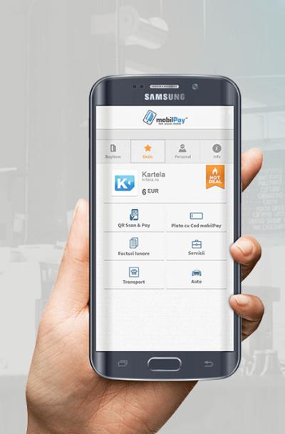 Un nou pas în inovaţia mobilPay: Posesorii de carduri Carrefour MasterCard emise de BRD Finance pot plăti în rate, cu telefonul, la Carrefour