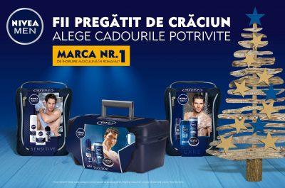 Fii pregătit de Crăciun cu noile cadouri NIVEA MEN!