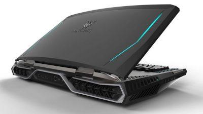 Mult asteptatul laptop de gaming – Acer Predator 21 X, primul notebook cu ecran curbat din lume