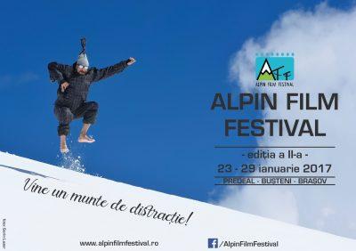 Alpin Film Festival 2017 aduce cultura montana si distractia in Brasov, Predeal si Busteni