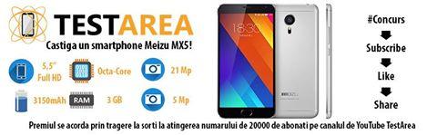 Castiga un smartphone Meizu MX5