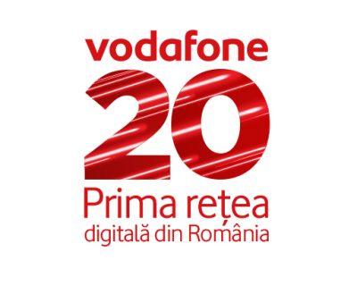 Vodafone România lansează campania aniversară de 20 de ani oferind internet nelimitat gratuit de Ziua Îndrăgostiților