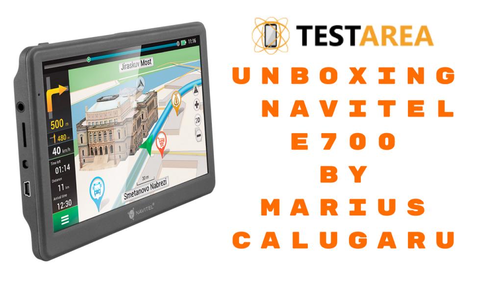 Unboxing GPS Navitel E700