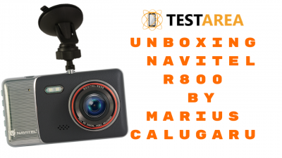Unboxing camera auto DVR Navitel R800