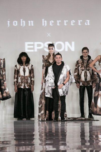 Designerul John Herrera și Epson colaborează pentru lansarea unei colecții Haute Couture la London Fashion Week